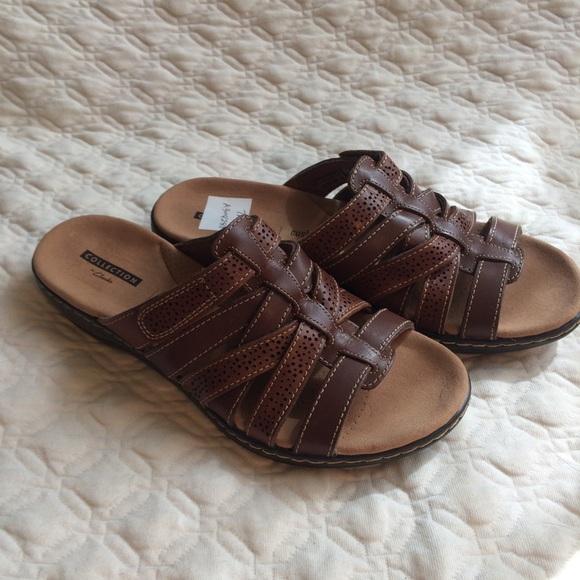 23144db2d860 New Clarks Leisa Field Adjustable Sandal Slides